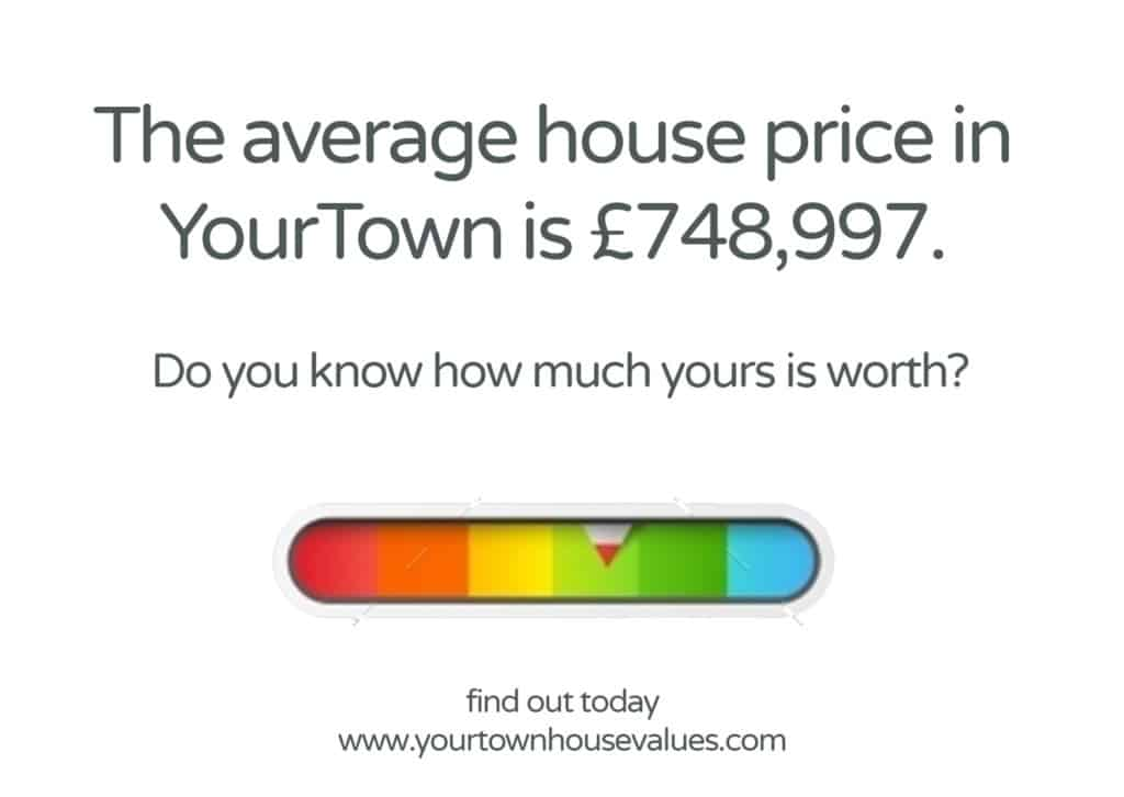 House Values Leaflet Idea