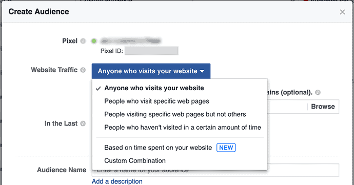 Facebook custom audience for estate agents