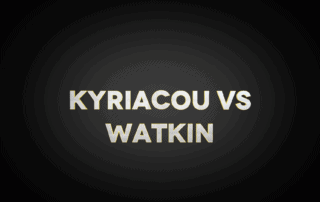Kyriacou Vs Watkin